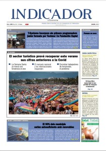 Portada Indicador d'Economia en paper